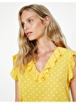 Koton Puantiyeli Bluz Sarı